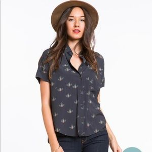 NWOT Marine Layer - The Zoey Buttondown Top